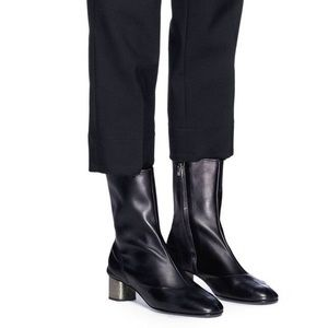Robert Clergerie Plop Black Nappa Leather Boot